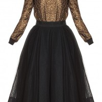 Boutique 1 - MARTIN GRANT - Black Ballerina Tulle Skirt | Boutique1.com