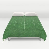 Football's coming home Duvet Cover by Steffi ~ findsFUNDSTUECKE