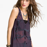 Free People 'Bead It' Embellished Tank | Nordstrom