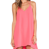 Feel the Piece Fiona Cami Dress in Pink