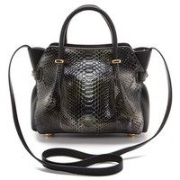 Nina Ricci Python Leather Handbag
