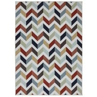 Mixed Chevron Metropolitan Rug