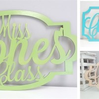 Gorgeous Teacher Wood Sign!!!!