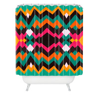 Moonrise Pattern Shower Curtain