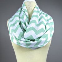 Nursing  scarf, breastfeeding cover, cover for breast feeding, nursing cover up, nursing infinity scarf, nursing cover , Sage scarf