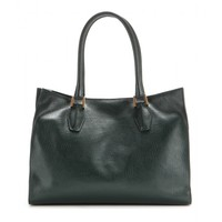 D-Cube leather tote