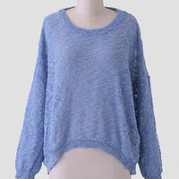 A Lovely Time Lace Sweater