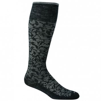 Sockwell Women's Damask Circulator 15-20 mmHg Compression Socks