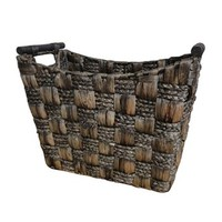 Neu Home Water Hyacinth & Maize Tapered Basket