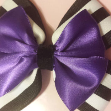 Beetlejuice Inspired Bow