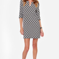 Find The Perfect Green, Blue, White or Black Shift Dress at LuLu*s - Page 2