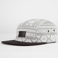 Vans Davis Mens 5 Panel Hat Heather Grey One Size For Men 22504813001