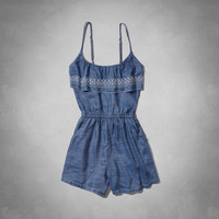 Piper Chambray Romper