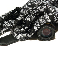 Scarf Camera Strap, Aztec Camera Strap, Canon, Nikon, Mirrorless Camera Strap, Women Accessories