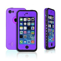 New Waterproof Shockproof Dirtproof Snowproof Protection Case Cover Only for Apple Iphone 5C Aqua Blue