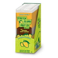 Stretch Island Original Fruit Leather, Mango, 30 -  0.5-Ounce Bars Per Box
