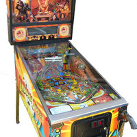 Indiana Jones Pinball Machine (1993) - The Pinball Company