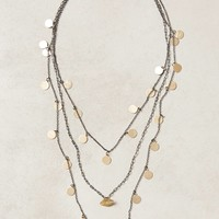 Mariette Coin Necklace by Anthropologie Gold One Size Necklaces