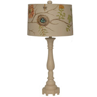 Blossom Bird Nest Lamp -painted shade