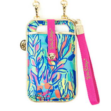 Call Or ID Crossbody Phone Case - Lilly Pulitzer