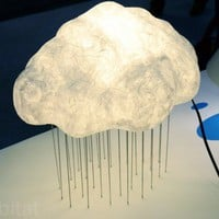 DCS Corp Shows Off Their Cute Washi Cloud Lamps at ICFF | Inhabitat - Green Design Will Save the World