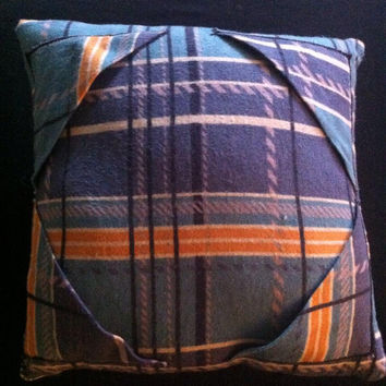 Plaid iPad Tablet Lap Pillow