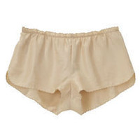 Vanessa Bruno / Scalloped Silk Brief | La Garçonne