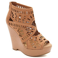 Gianni Bini Lanah Laser-Cut Perforated Wedges | Dillards.com
