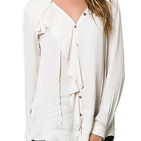 The All Saints Blouse in Ivory