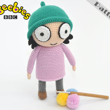 Cbeebies Sarah And Duck Soft Toys From Sarah & Duck, Crochet,