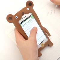 Lewire Fox and Bear Shape Phone Case For iPhone 4/4S 0630J021 Bear