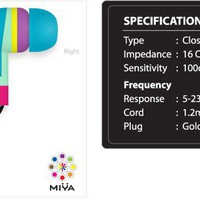 MIYA HEADPHONES - Customizable
