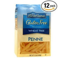 Heartland Gluten Free Penne, 12 Ounce Bags  (Pack of 12)