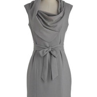 New Hire and Higher Dress in Slate | Mod Retro Vintage Dresses | ModCloth.com