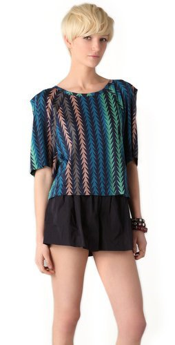 Marc by Marc Jacobs Arrowhead Print Top | SHOPBOP