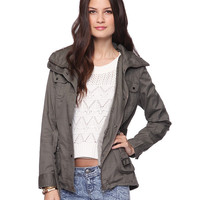 Twill Surplus Jacket | FOREVER21 - 2087533412