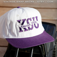 NCAA Wildcats Kansas State University vintage by VintageSnapbacks