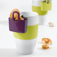 Mini Cup Carryall Lilli 2pcs solid plum by Koziol