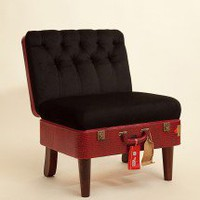 Suitcase Chair &amp;#8211; Red Skinny ?? Seating ?? Recreate