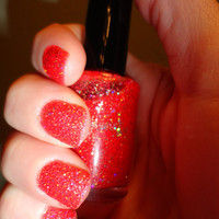 Rouge Dragon CustomBlended Nail Polish by parissparkles on Etsy
