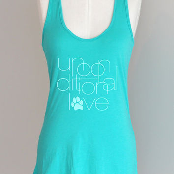 Unconditional Love Eco Friendly Pima Modal Racerback by ShopRIC