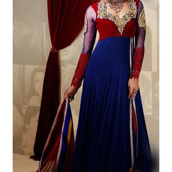 Exclusive Designer Floor Length Anarkali Salwar
