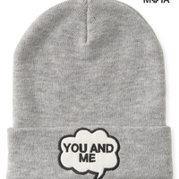 You And Me Beanie