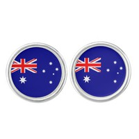 Aussie flag Cufflinks