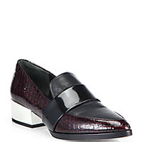 3.1 Phillip Lim - Quinn Leather Loafers - Saks Fifth Avenue Mobile