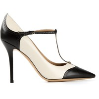 Salvatore Ferragamo T-bar Pumps - Eraldo - Farfetch.com