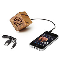 MINI WOODEN SPEAKER | Ipod Speakers, Portable Mp3 Speakers | UncommonGoods