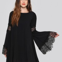 Festival Bell Sleeve Dress