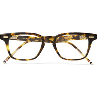 Thom Browne - D-Frame Matte-Acetate Glasses | MR PORTER
