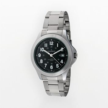 Peugeot Silver-Tone Watch - Men